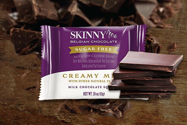 Creamy Milk Chocolate Squares